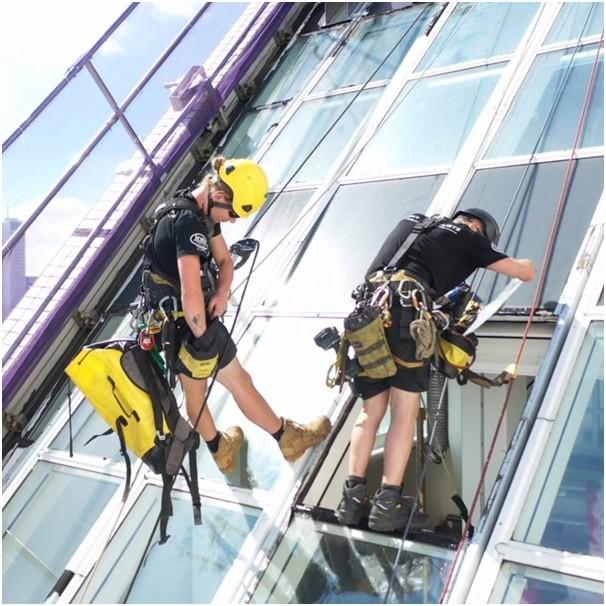 ایمنی دسترسی طناب در کار های ساختمانی