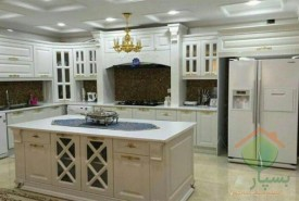 طراحی، ساخت و نصب کابینت آشپزخانه ممبران