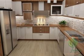 ساخت و اجرای کابینت آشپزخانه ملامینه