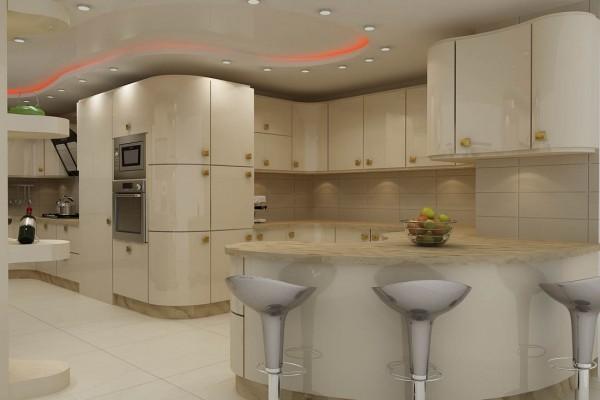 طراحی و ساخت کابینت آشپزخانه در بندرعباس - شرکت دانوب