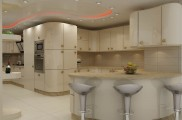 شرکت دانوب - طراحی و ساخت کابینت آشپزخانه در بندرعباس