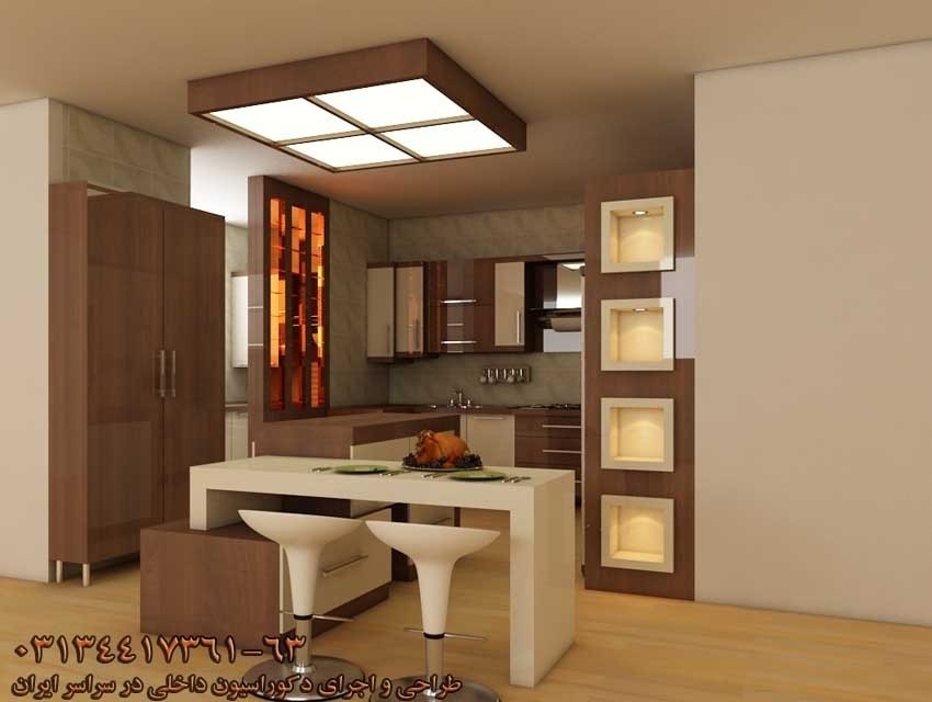 تصویر شماره شرکت سپاهان دکور - طراحی ، ساخت و اجرای کابینت آشپزخانه در اصفهان