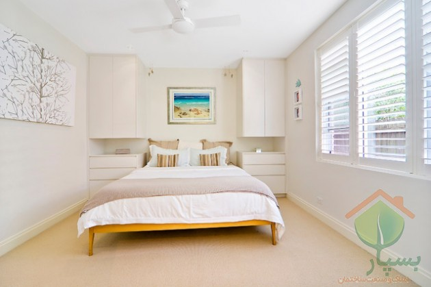 تصویر شماره چیدمان اتاق خواب کوچک