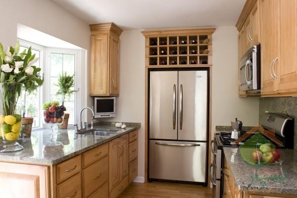 بازسازی آشپزخانه کوچک با چند راهکار ساده