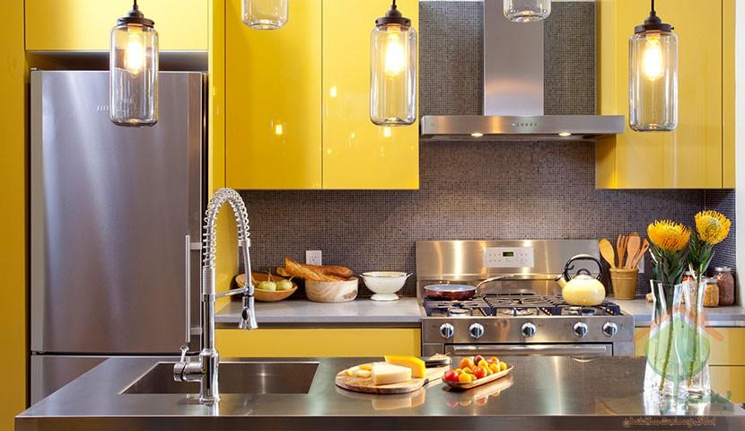 تصویر شماره تغییر چیدمان و دکوراسیون آشپزخانه  برای نوروز 1399