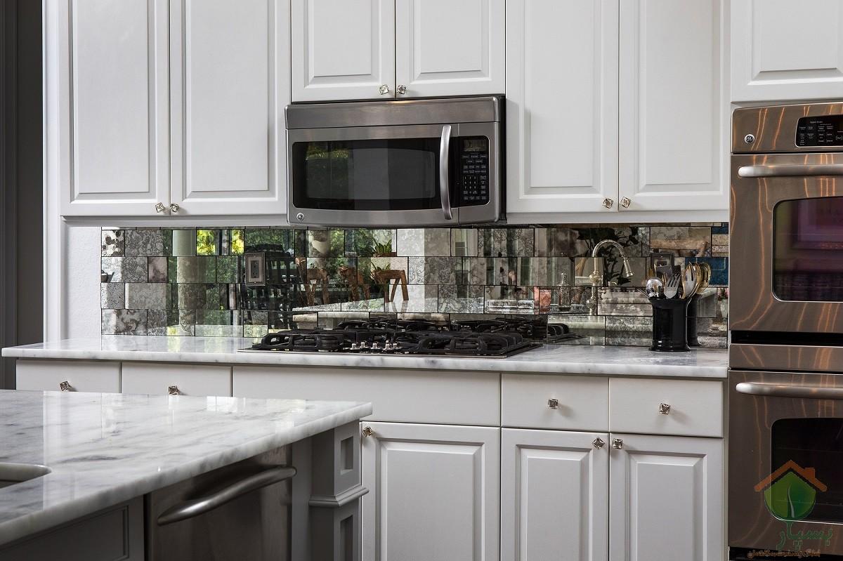 تصویر شماره 21 نوع کاشی بین کابینتی آشپزخانه