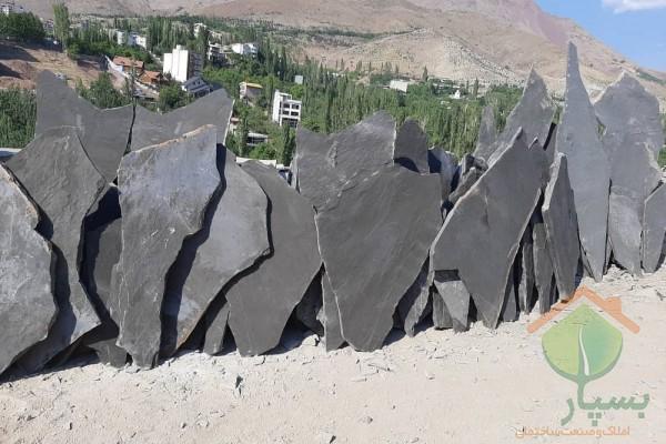 سنگ لاشه (سنگ ورقه ای) چیست ؟ | کاربرد آن در محوطه و نمای ساختمان