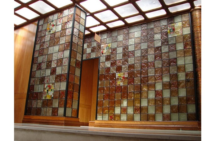 کاربرد بلوک های شیشه ای در نمای ساختمان
