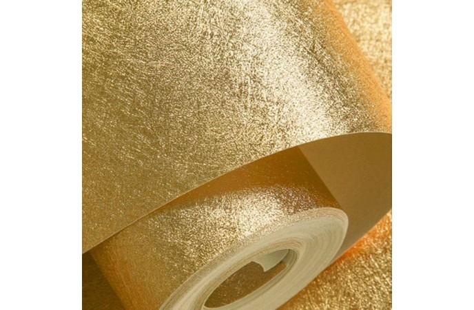 کاغذ دیواری متالیک طلایی