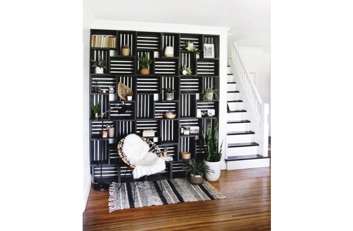 دیزاین مبل و صندلی تک برای کنج و دیوارهای خالی