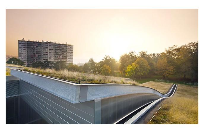 ساختار بام سبز