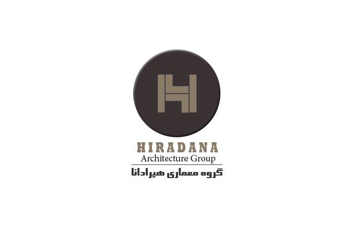 لوگوی شرکت معماری هیرادانا