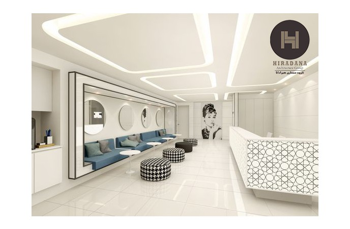 طراحی داخلی سالن زیبایی
