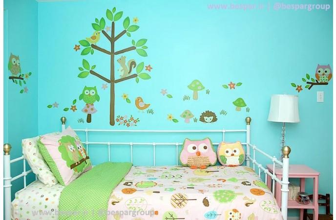 برچسب کاغذ دیواری اتاق کودک