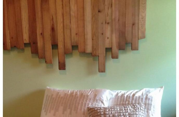 تختهی بالا تختی چوبی