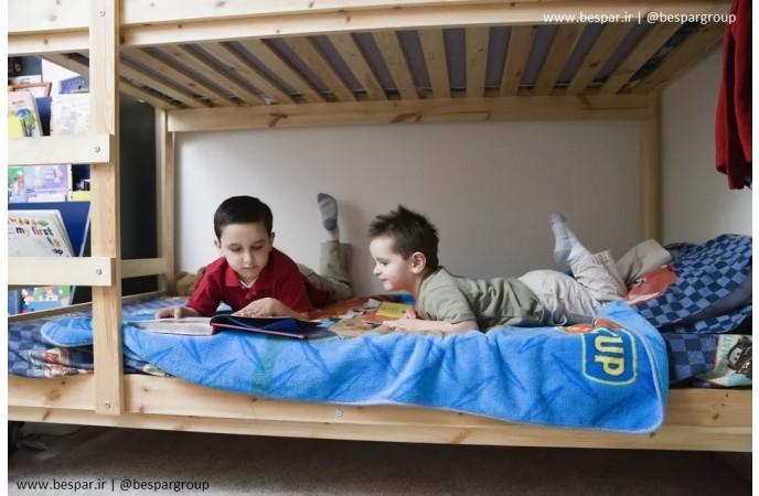 طراحی تخت دو طبقه اتاق کودک